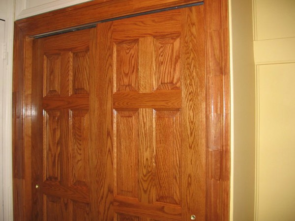 Door and Trim Staining