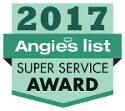 Angies List 2017 Super Service Award